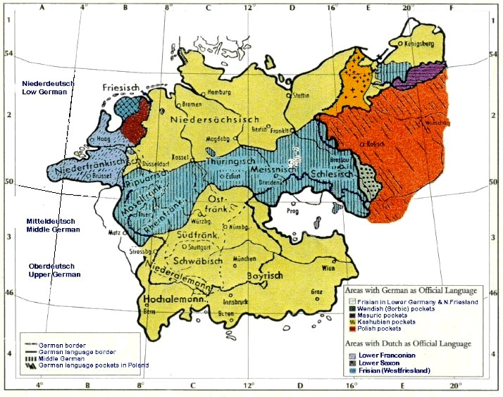 DIALECTS AND HIGH GERMAN